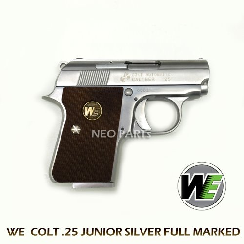 WE COLT 25 JUNIOR SILVER 마킹버전
