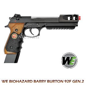 WE BIOHAZARD BARRY BURTON GEN.2 92F