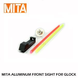 MITA FIBER OPTIC FRONT SIGHT/TM,VFC,WE글록용
