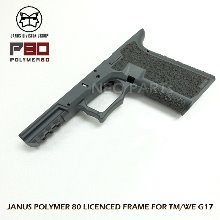JANUS P80 LICENSED FRAME FOR G17/COBALT GREY