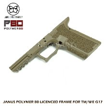 JANUS P80 LICENSED FRAME FOR G17/DESERT EARTH